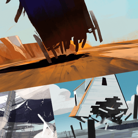 thumbnail speed paintings