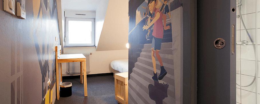 Chambre 411 - Graffalgar