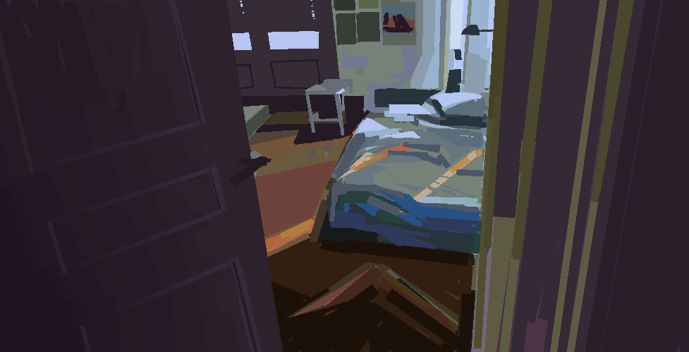 Heavypaint room study