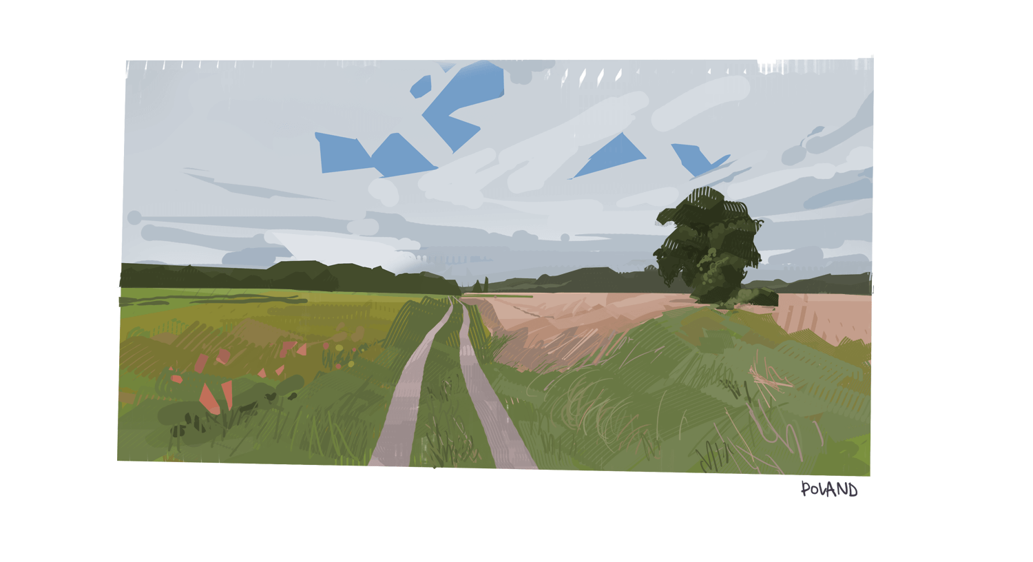 Virtual plein air - Poland