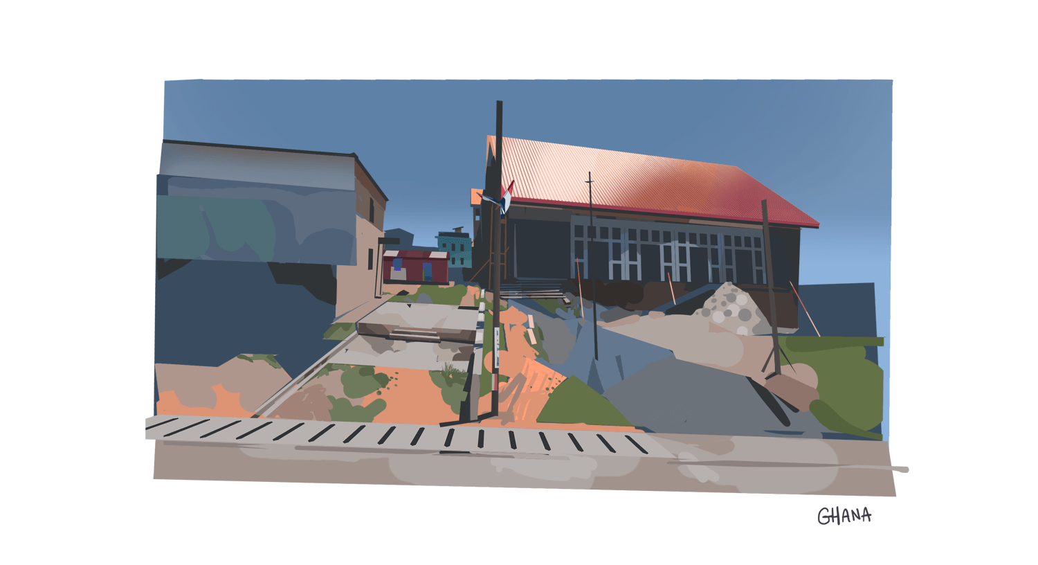 Virtual plein air - Ghana