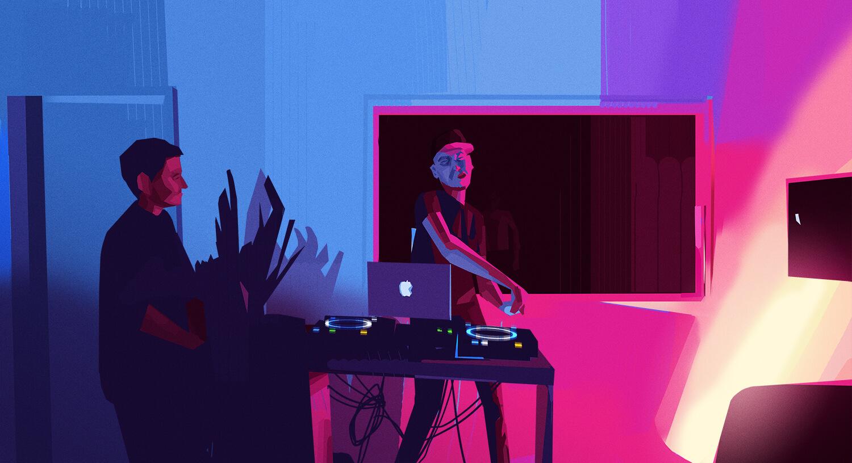 Chousse Air DJing
