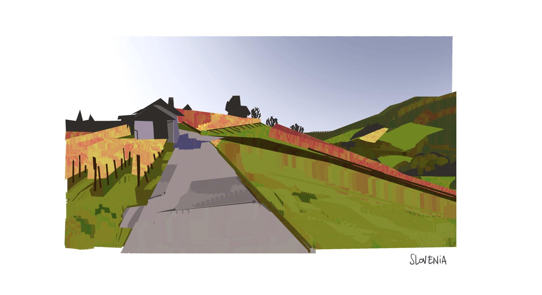 Virtual plein air - Slovenia